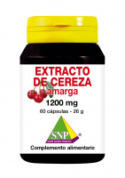 Extracto de cereza ácida 1200 mg