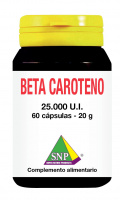 Beta caroteno 25000 UI