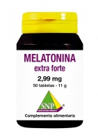 Melatonina 2,99 mg 50 Tabletas