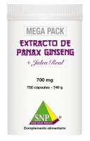 Panax Ginseng + Jalea Real + Guarana  MEGA PACK