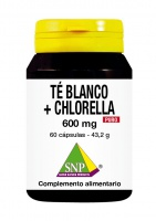 Te Blanco + Chlorella 600 mg Puro
