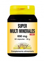 Super Multi Minerales 650 mg Puro